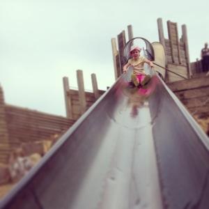 The castle slide